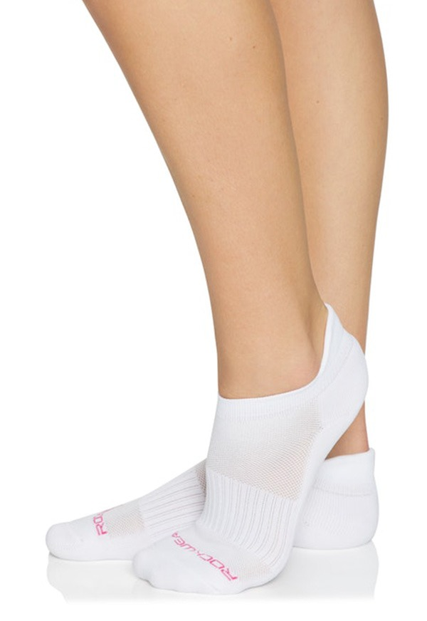 TRAINING CUSHIONED HEEL SOCK _R193ASX001.WHI